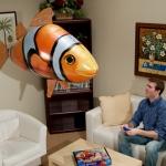 วิธีประกอบ Air Swimmer รุ่น ปลาการ์ตูน นีโม่ (Flying Clown Fish)