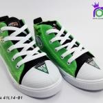 รองเท้า แอ๊ดด้า ผ้าใบเด็ก ADDA รุ่น 41L14-B1 สีเขียว เบอร์ 31-35