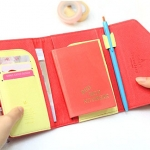 New Day Passport Case_Hot Pink