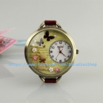Pre-order: Forest with rabbit retro Mini watch