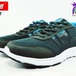 รองเท้าผ้าใบ BAOJI บาโอจิ รุ่น DK99377 สีเทา เบอร์ 41-45