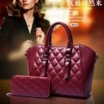 กระเป๋า Berry Bag พร้อมส่ง รหัส SUB8851RD สีแดง เซต 2 ใบ น่าใช้ค่ะ