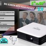 เล็กเว่อร์แต่เจ๋งจริง!! Mini ray LED Projector HD Home Theater Video Android HDMI USB.