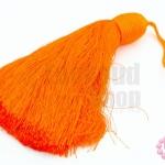 พู่ไหมเทียม สีส้ม 14.5ซ.ม(1ชิ้น)