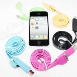 สายชาร์จสี USB สำหรับ iPhone, iPod และ ipad , sumsung , BB , HTC ทุกรุ่น สีสันสุดจี๊ด ในราคากันเองเพียง 199 บาท พร้อมจัดส่งทั่วประเทศ
