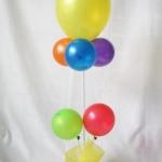 """ลูกโป่งกลม เนื้อเมททัลลิก สีเหลือง ไซส์ 9 นิ้ว แพ็คละ 10 ใบ ( Round Balloons 9"""" - Metallic Yellow Color )"""