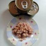 อาหารกระป๋องเปลือยขนาด 70-85 กรัม ปลาทูน่า- ในซุบแพค 48 กะป๋อง