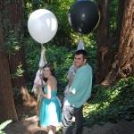 """ลูกโป่งจัมโบ้ สีดำ ขนาด 24 นิ้ว - Round Jumbo Balloon Black 24"""""""