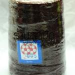 เชือกเทียนตราลูกบอลสีน้ำตาลไหม้ออกแดง ม้วนละ 170 บาท 600 หลา (905)