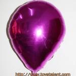 ลูกโป่งฟลอย์รูปหยดน้ำ สีชมพูเข้ม - Water Drop Shape Foil Balloon Deep Pink Color / Item no. TL-G036