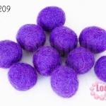 ลูกบอล Feit 20มิล #2 สีม่วงอ่อน (5ลูก)