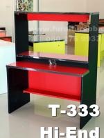 """โต๊ะต่างระดับ 3 ชั้น """"เมลามีน"""" ยาว 100 ซม."""