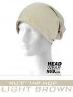 หมวก HIPHOP - LIGHT BROWN