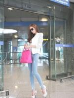 เสื้อคลุมแฟชั่นเกาหลี ทรงสูท ช่วงแขนเสื้อ เรียบหรู สีขาว