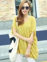 เสื้อปีกค้างคางสีเหลือง