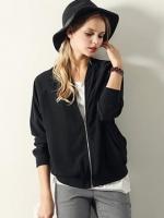 เสื้อแจ๊คเก็นสีดำ