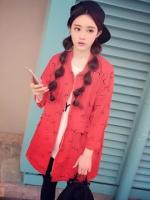 เสื้อคลุมยาวสีแดง