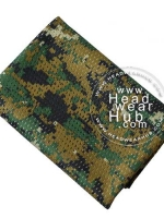 ผ้าพันคอทหาร Military Scarf - Jungle Digital
