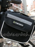 กระเป๋าพาดเฟรมจักรยาน BB04 : สีดำ