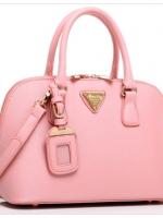 กระเป๋าแฟชั่นเกาหลี แบรนด์ Axixi หนัง PU สีชมพู