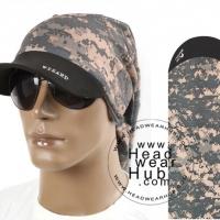 หมวกผ้าโพกหัว ผ้าบัฟแบบมีปีก