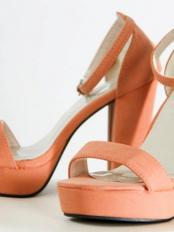 Sexy Pop High Heels { Light Orange }