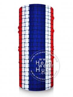 ผ้าบัฟ ผ้าโพกหัว TB1050 ลายธงชาติไทย