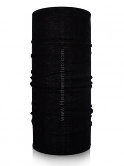 ผ้าบัฟ ผ้าโพกหัว TB062 Black สีดำล้วน