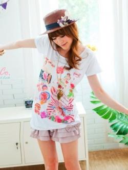 พร้อมส่ง ** เสื้อยืด Lolipop T-Shirt แบรนด์ Tokyo Fashion