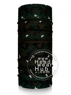 ผ้าบัฟ ผ้าโพกหัว Digital Forest TB735