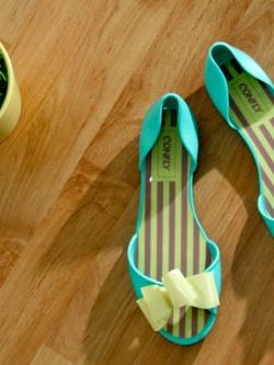 พร้อมส่ง ** รองเท้า Barbie Small Bow Sandals (size 36)