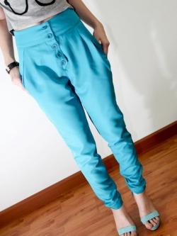 พร้อมส่ง ** กางเกง Royal Multi Color Pant [ XS ]