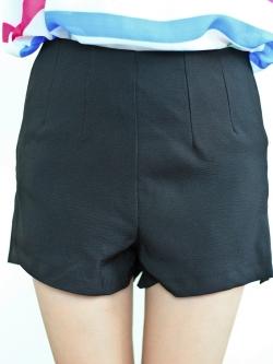 High Waist Pant (black)