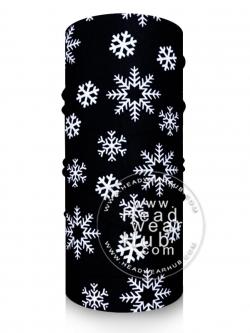 ผ้าบัฟ TB1037 ลาย Snowflake เกล็ดหิมะ