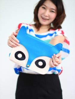 Raccoons Bag (blue)