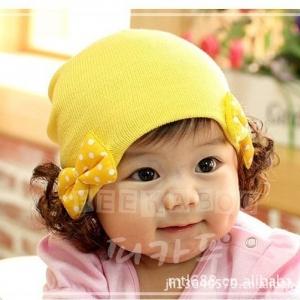 หมวกปอยผม MC81 สีเหลือง ชมพู แดง ม่วง