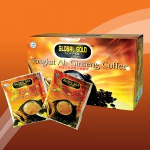กาแฟลดความอ้วนและเพิ่มสมรรถภาพทางเพศ ทองกาด อาลี Tongkat Ali Cinseng Coffee 15 ซอง