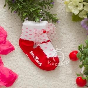 ถุงเท้าเด็กมีระบาย ไซส์ S 11-13 ซม. MSC36