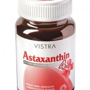 Vistra Astaxanthin 4 mg.วิสทร้า แอสตาแซนธิน