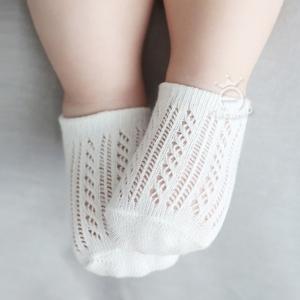 ถุงเท้าลูกไม้ 10-12,12-14 MSH56