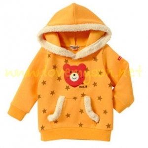 เสื้อกันหนาวลายกระต่าย สีเหลือง GA52