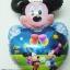 ลูกโป่งฟลอย์การ์ตูน มิกกี้เมาส์หัวใจ I Love You - Mickey Mouse Heart I Love You Foil Balloon / Item No.TL-A065 thumbnail 1