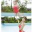 พร้อมส่ง ชุดว่ายน้ำวันพีซ Monokini สายเสื้อเดี่ยว แต่งระบายด้านหน้า หลังเว้าลึก น่ารักสไตล์เกาหลี thumbnail 44