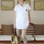 MS193 เสื้อคลุมท้องแฟชั่นเกาหลี มี 2 สี ให้เลือก ด้านหน้ามีกระดุมจริง เนื้อผ้านิ่ม ใส่สบายค่ะ thumbnail 2
