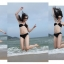 พร้อมส่ง ชุดว่ายน้ำบิกินี่ทูพีช สายเดี่ยวเฉียง กางเกงแต่งหัวเข็มขัดสุดสวย thumbnail 9