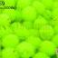 ปอมปอมไหมพรม สีเขียวสะท้อนแสง 1ซม (100ชิ้น) thumbnail 1