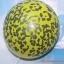 """ลูกโป่งกลมสีเหลืองพิมพ์ลายเสือชีตาร์ (ซาฟารี ดีไซน์) ไซส์ 12 นิ้ว แพ็คละ 10 ใบ (Round Balloons 12"""" - Safari Cheetah Printing latex balloons) thumbnail 1"""