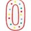 เทียนวันเกิดตัวเลข ลายจุด (เลข 0-9) กรุณาระบุตัวเลขที่ต้องการเมื่อทำการสั่งซื้อด้วยนะคะ / Item No. TL-N007 thumbnail 7