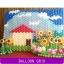 กรอบใส่กำแพงลูกโป่ง ไซส์เล็ก/ชิ้น Wall balloon Grid -small - 30 X 30 cm/ Item No.B411 thumbnail 2