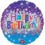 ลูกโป่งฟลอย์นำเข้า Happy Birthday Bright Stars / Item No. AG-24653 แบรนด์ Anagram ของแท้ thumbnail 1
